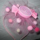 Обруч - цукерочка, ободок - конфетка