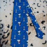 Яркий галстук со снуппи унисекс