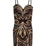 платье в паетки от H&M. Новогоднее, яркое, вечернее
