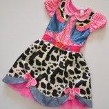 Шикарное платье Ковбойши 5-6 лет