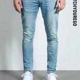 Брендовые джинсы от Chasin узкие,зауженые,skinny-светлые Оригинал 100%