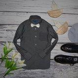 7 лет 122 см Очень модная фирменная рубашка классика для мальчика