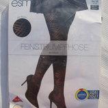 Черные капроновые колготки 60 Ден размер S, EU 36 -38 Esmara Германия