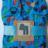 Фланелевая пижама, байка динозаврики для мальчика Rebel Primark