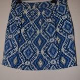 Жаккардовая юбка с узорами и бусинами River Island