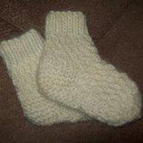 Детские носки из собачьей шерсти. 12 размер