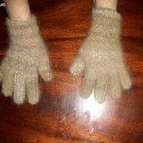 Перчатки из собачьей шерсти