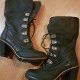 Женские кожаные сапоги Bussola