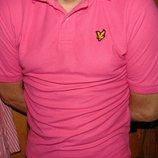 Брендовая стильная тениска поло футболка Lyle & Scott м-л.
