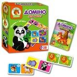 Домино Зоопарк животные для малышей VT2100-02 влади тойс