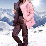 Женские лыжные костюмы теплые женский зимний лыжный костюм теплый синтепоне куртка штаны плащевка