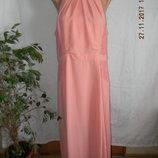 Новое нарядное платье в пол с кружевом