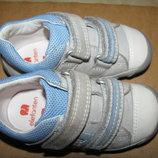 Кросівки повністю шкіряні брендові Elefanten Оригінал Німеччина р.20 стелька 13 см
