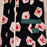 Винтажный стильный шелковый галстук от бренда Prochownick.Италия