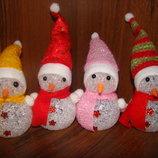Снеговик, светящийся, снеговичек, минисветильник, LED, подарок, Новый год