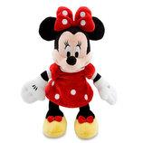 Плюшевая красавица Минни Маус. minnie mouse 23см. Оригинал. Disney.