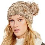 Женская шапка с помпоном бренда С.с. USA