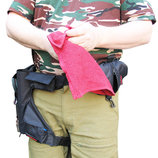 Рыболовное полотенце с чехлом Sixstories