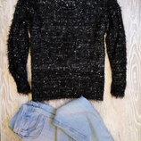 Буклированный свитер травка р20-22