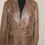 Шкіряна куртка - піджак Donar