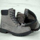 мужские зимние ботинки Timberland размеры от 41 по 45р