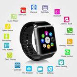 Часы умные,часы браслет Smart Watch GT-08 black, si9lver, gold, red