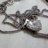 Цепь с подвеской серебро 925 Новое