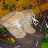Отдам теплые зимние сапоги Columbia 37 размер 24 см стелька