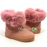 Ботинки Шалунишка для девочек 25-30р