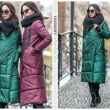 Зимнее пальто зимняя куртка зимний плащ 4 цвета