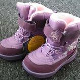 Зимові чобітки 25р 16см для дівчинки