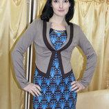 Пиджак трикотажный, размер 46 распродажа