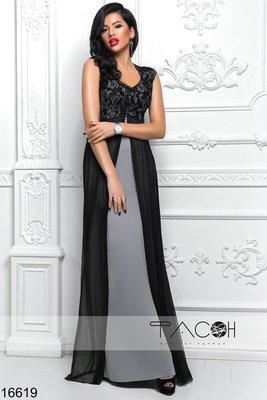 59fc1c2424e Вечернее платье с гипюром  620 грн - женские вечерние платья в ...