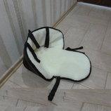 Распродажа Матрасик, подстилка, вкладыш в санки на овчине с синтепоном