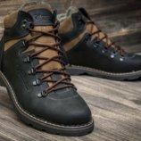 мужские зимние ботинки кожа Columbia 40-45р
