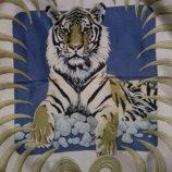 Платок-Каре Hermes Tigre Royal 1977 Christiane Vauzelles .Оригинал
