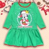 Платье детское утепленное для девочки Минни -145грн.