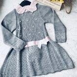 Платье туника на девочку теплое распродажа в наличии