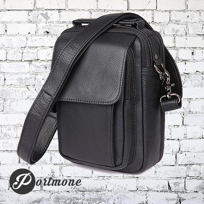Мужская сумка барсетка Boss Black из натуральной кожи