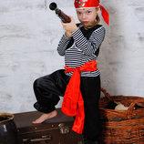 Детский карнавальный костюм Разбойник пират