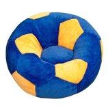 Детское Кресло мяч маленькое сине-желтое