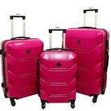 Дорожный Чемодан сумка Carbon 720 набор 3 штуки розовый