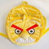 Рюкзак детский птица Чак желтая Angry birds