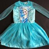 Карнавальное платье Эльза размер 140