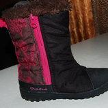 зимние термо ботинки quechua 30 размер