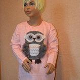 платье туника для девочки совушка