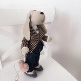 Пес собака тильда символ года подарок на новый год собачка игрушка