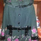 Красивое кашемировое пальто, демисезон и тёплая зима