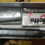 Станок для бритья классический RK Bay с лезвиями Gillette platinum plus обмен