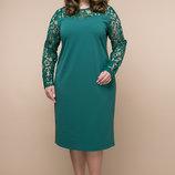 Платье Эмилия , 2 цвета. р. 54, 56, 58, 60